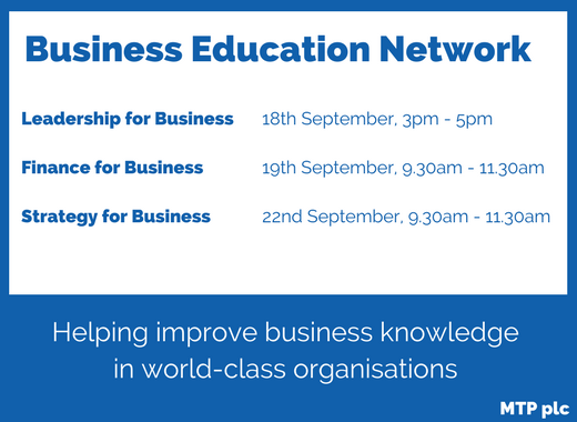 MTP BUsiness Education Network 2017